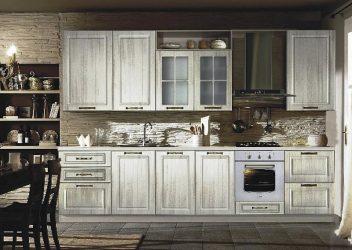фото кухня патина