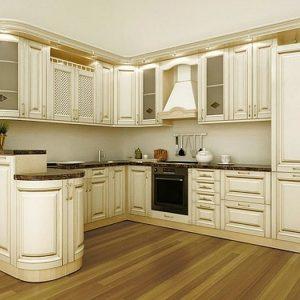 фото кухни патина