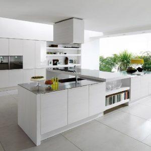 """фото белой кухни """"Риата"""""""