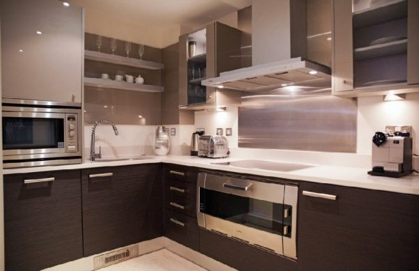 Кухня Милана коричневая