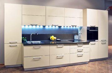 фото матовой кухни