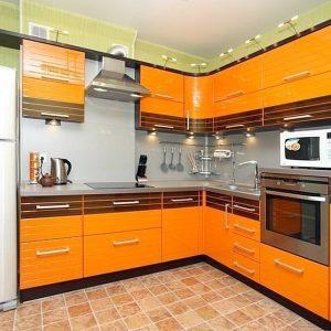 фото кухни эмаль