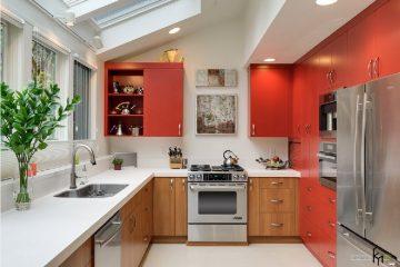 фото встроенной кухни
