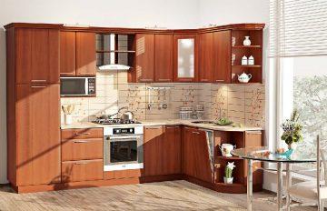 фото угловой кухни