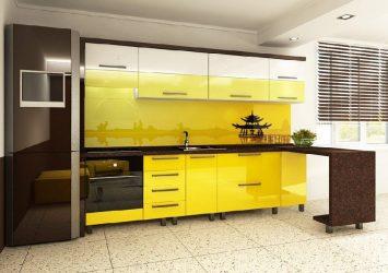 фото модульной кухни