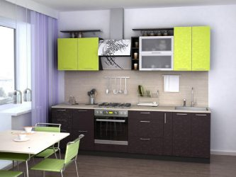 фото прямой кухни
