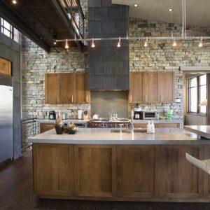 фото кухни лофт