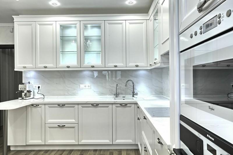 боеголовок было кухня белый фасад классика фото орла