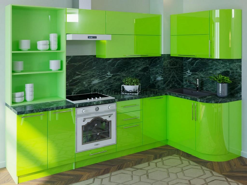 находятся картинки кухонная мебель зеленого цвета фототюли низким ценам